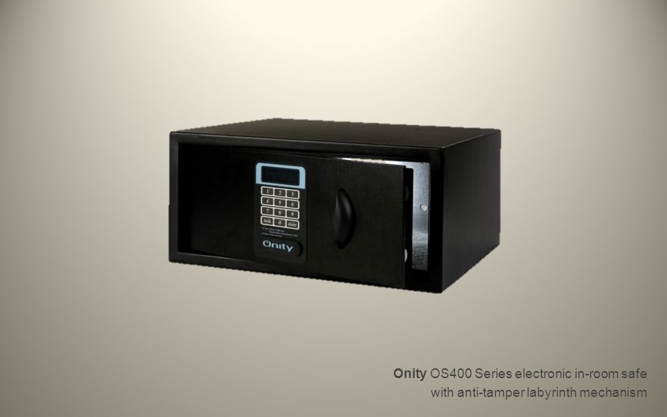 Onity OS400 Series electronic in-room safe