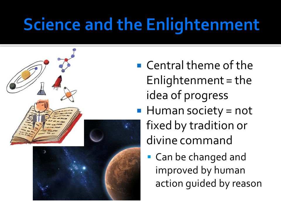 Science and the Enlightenment
