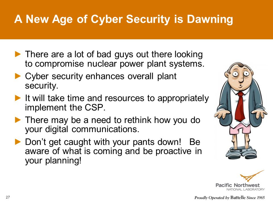 A New Age of Cyber Security is Dawning