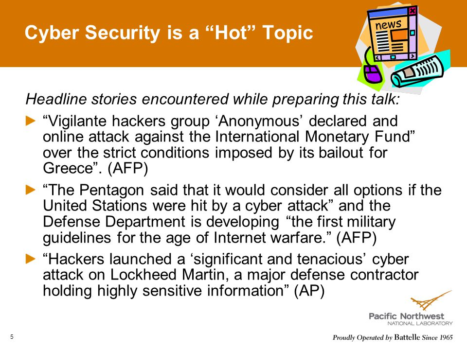 Cyber Security is a Hot Topic