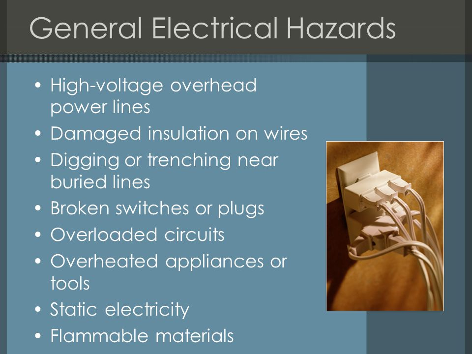 General Electrical Hazards