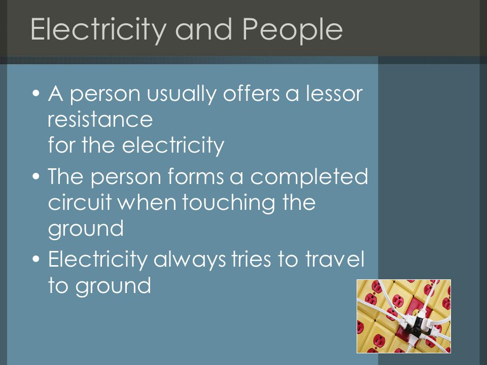 Electricity and People