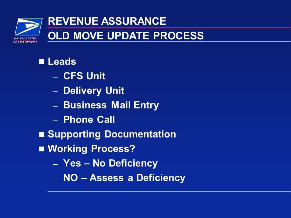 OLD MOVE UPDATE PROCESS