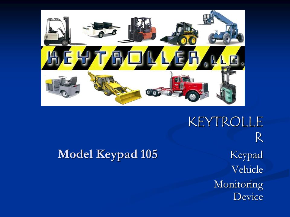 KEYTROLLER Keypad Vehicle Monitoring Device