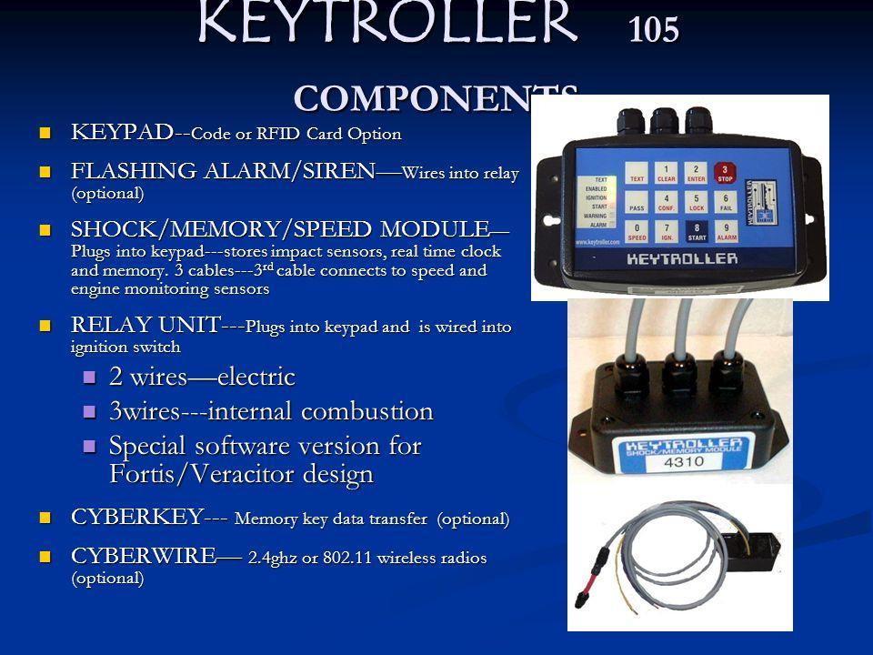 KEYTROLLER 105 COMPONENTS