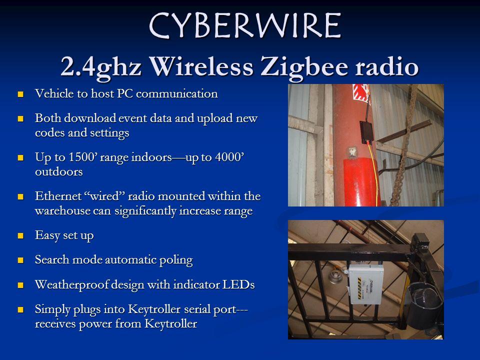 CYBERWIRE 2.4ghz Wireless Zigbee radio