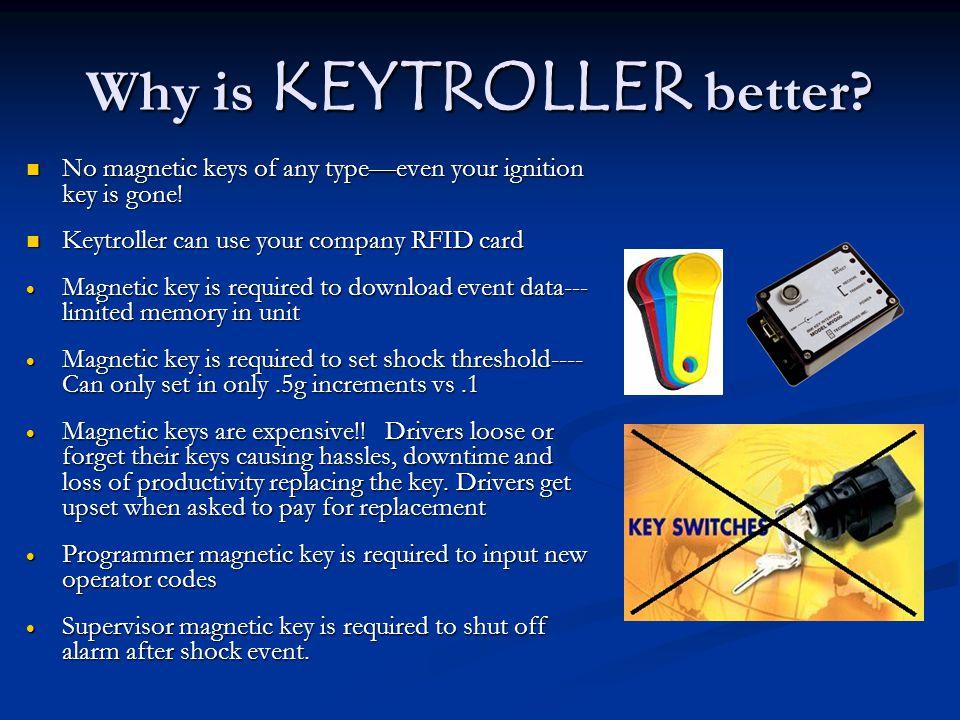 Why is KEYTROLLER better