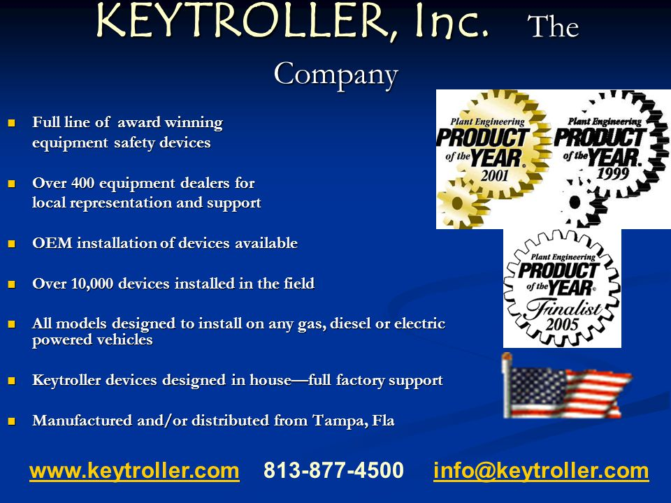 KEYTROLLER, Inc. The Company
