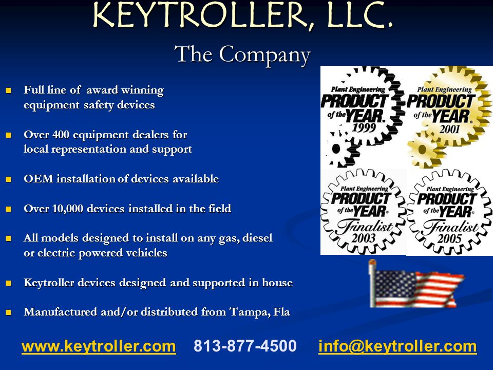 KEYTROLLER, LLC. The Company