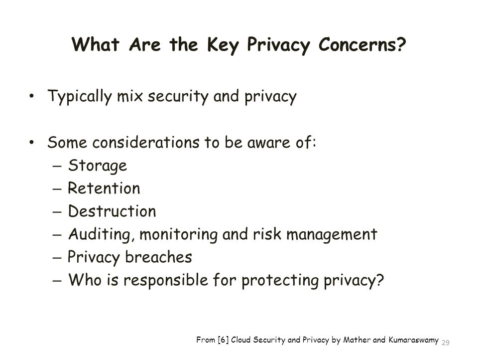 What Are the Key Privacy Concerns