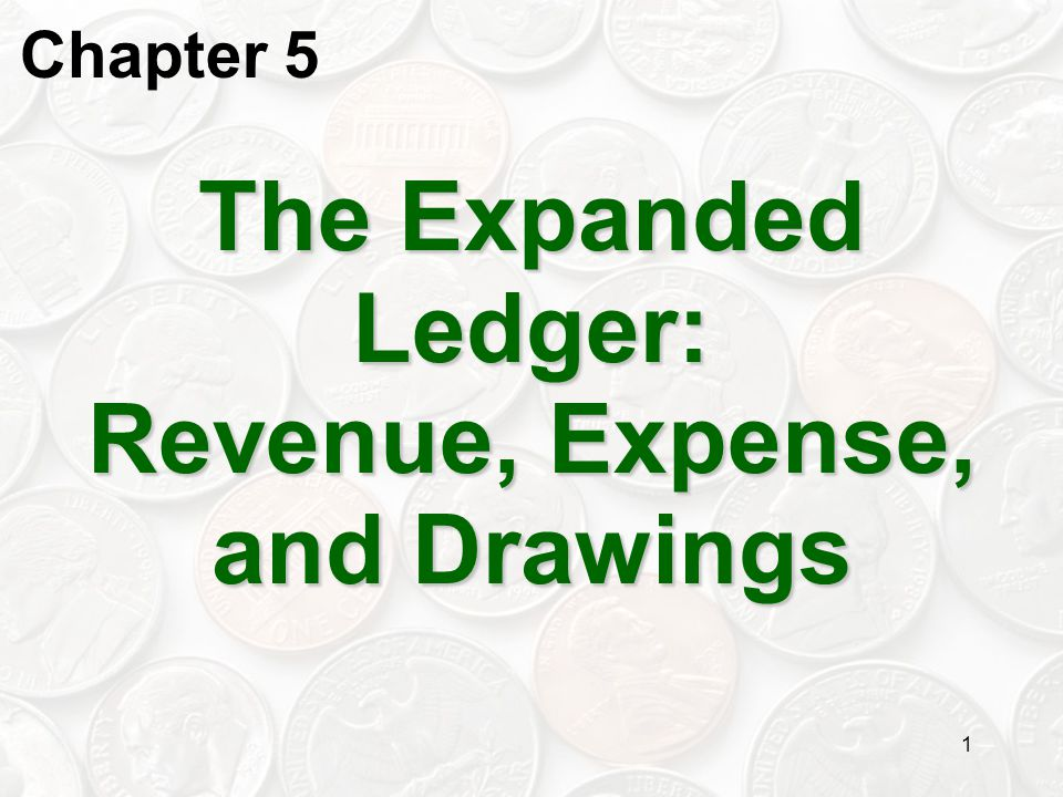 The Expanded Ledger: Revenue, Expense, and Drawings