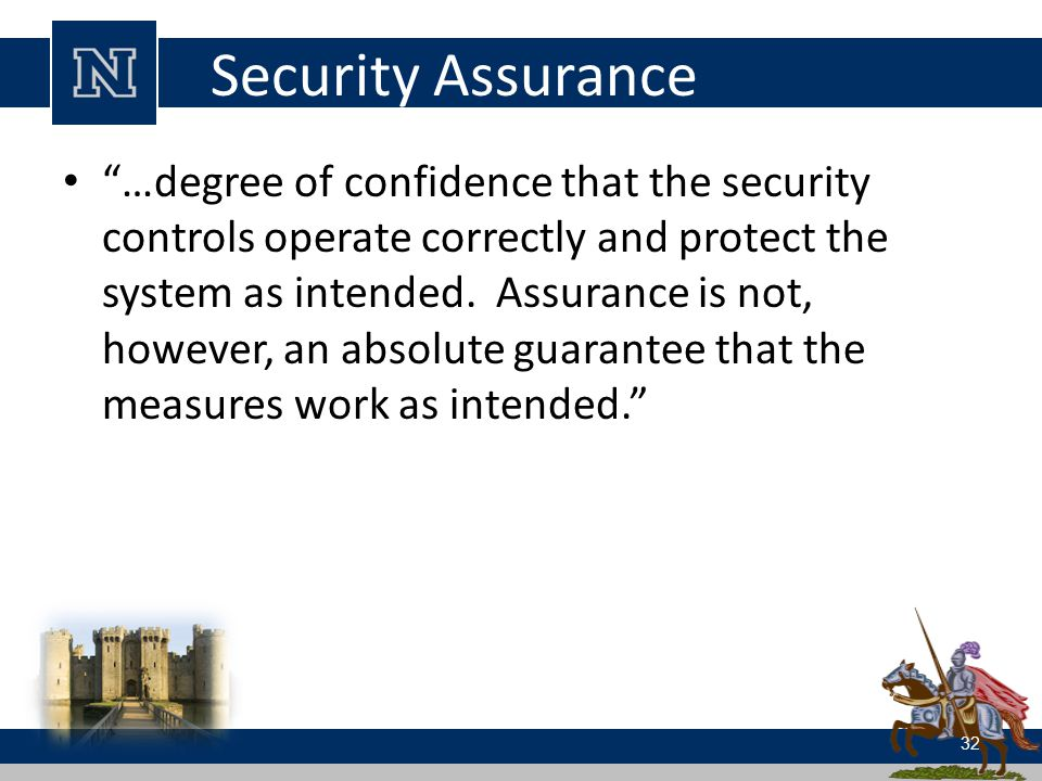 Security Assurance