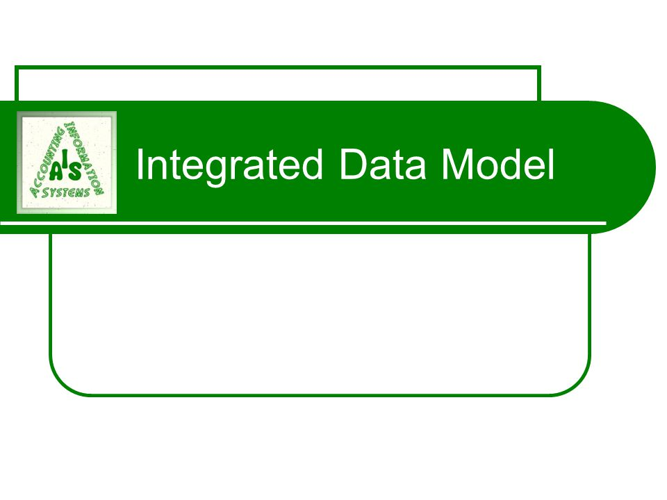 Integrated Data Model