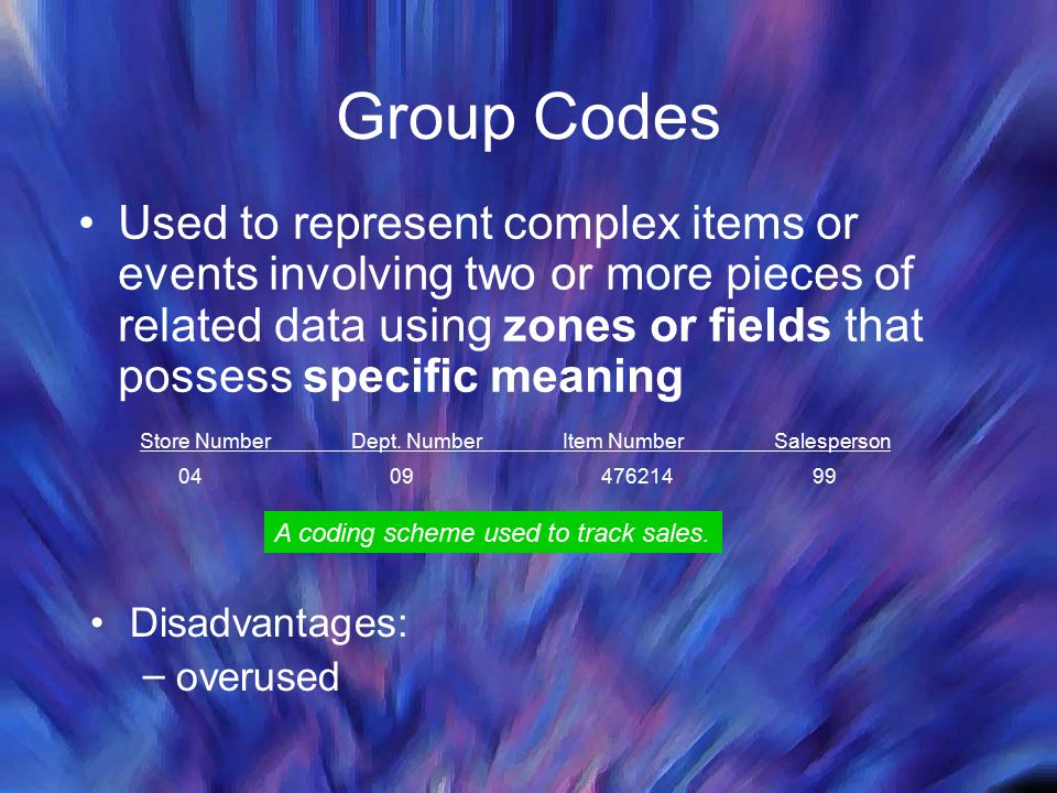 Group Codes