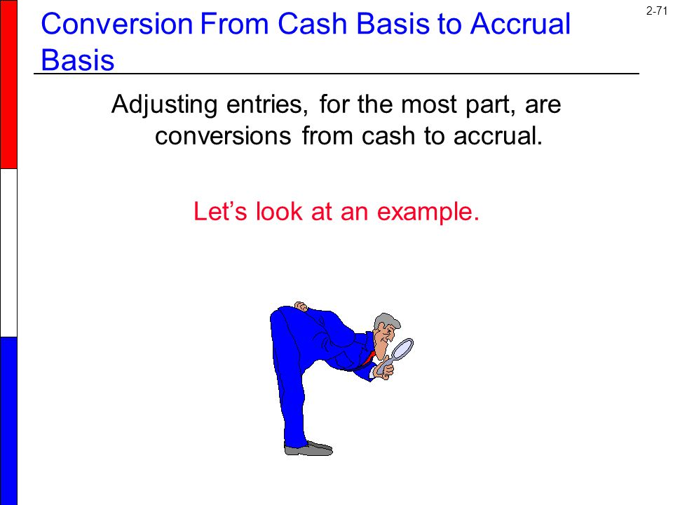 Conversion From Cash Basis to Accrual Basis