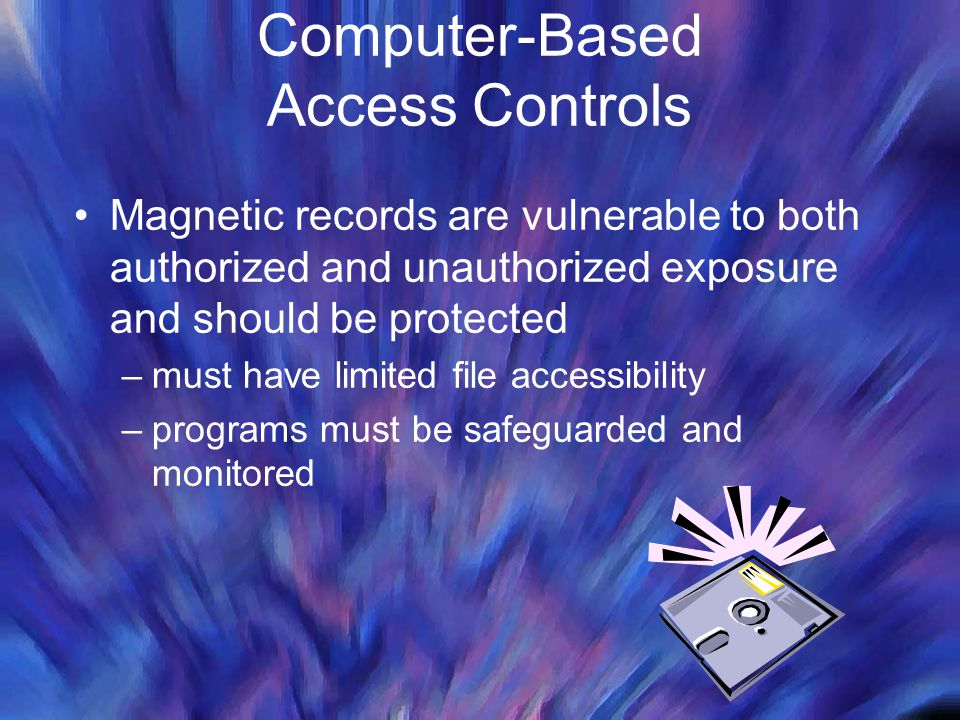 Computer-Based Access Controls