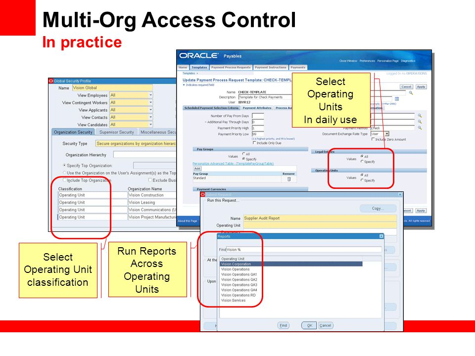 Multi-Org Access Control In practice