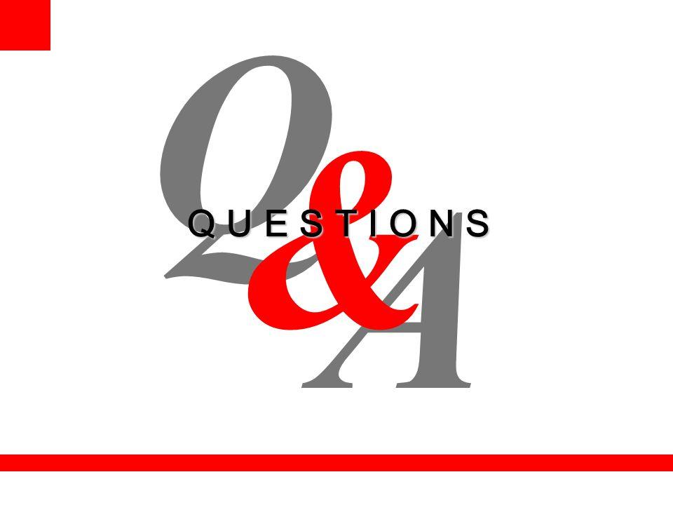 Q & Q U E S T I O N S A