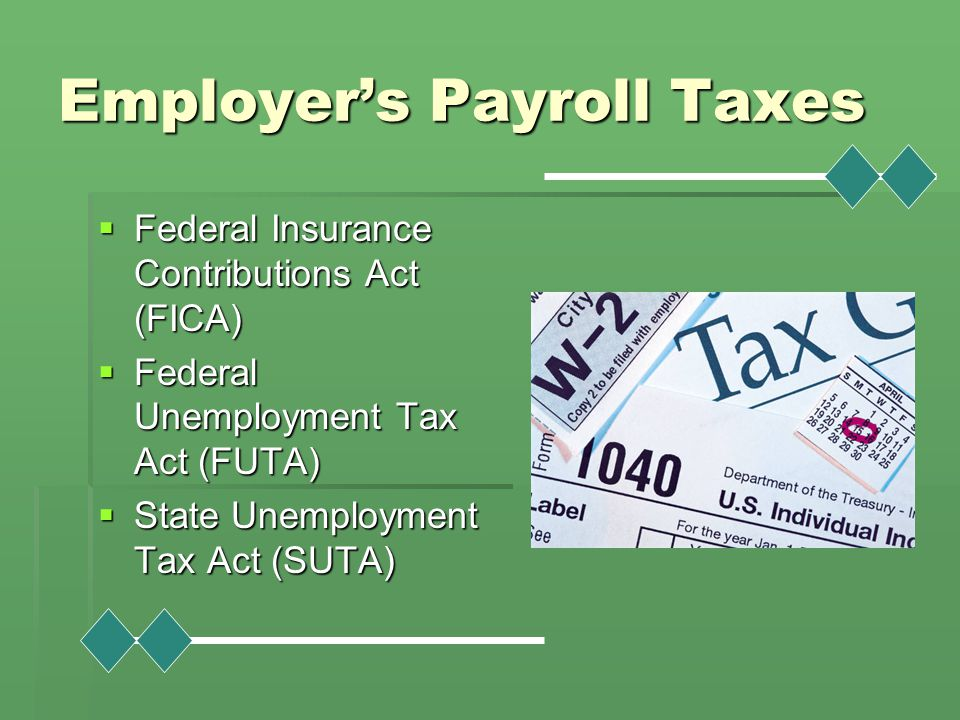 Employer's Payroll Taxes