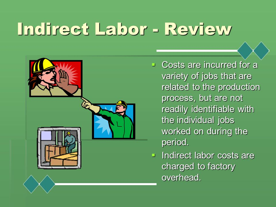 Indirect Labor - Review