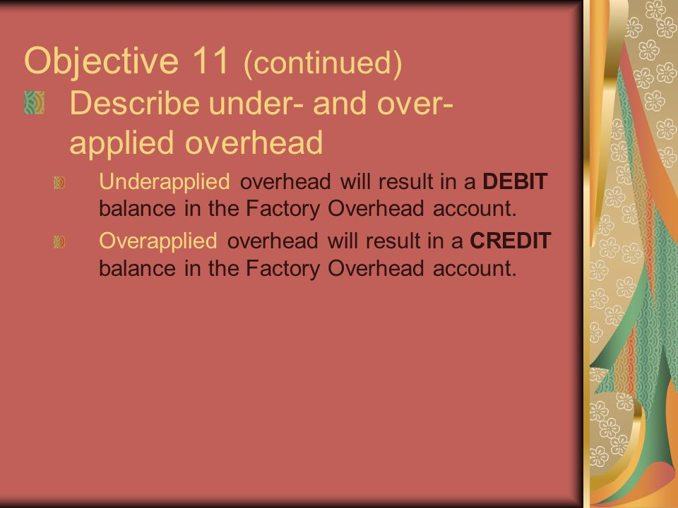 Objective 11 (continued)