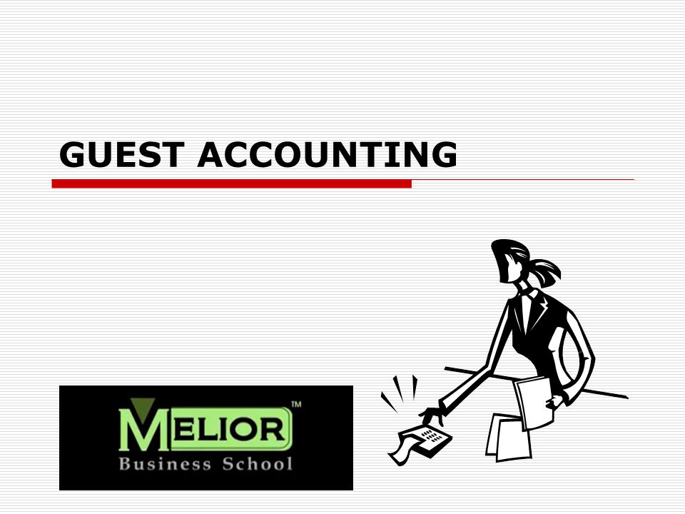 GUEST ACCOUNTING