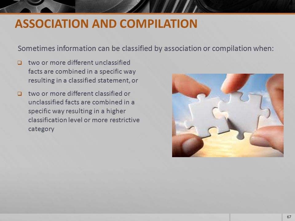 ASSOCIATION AND COMPILATION