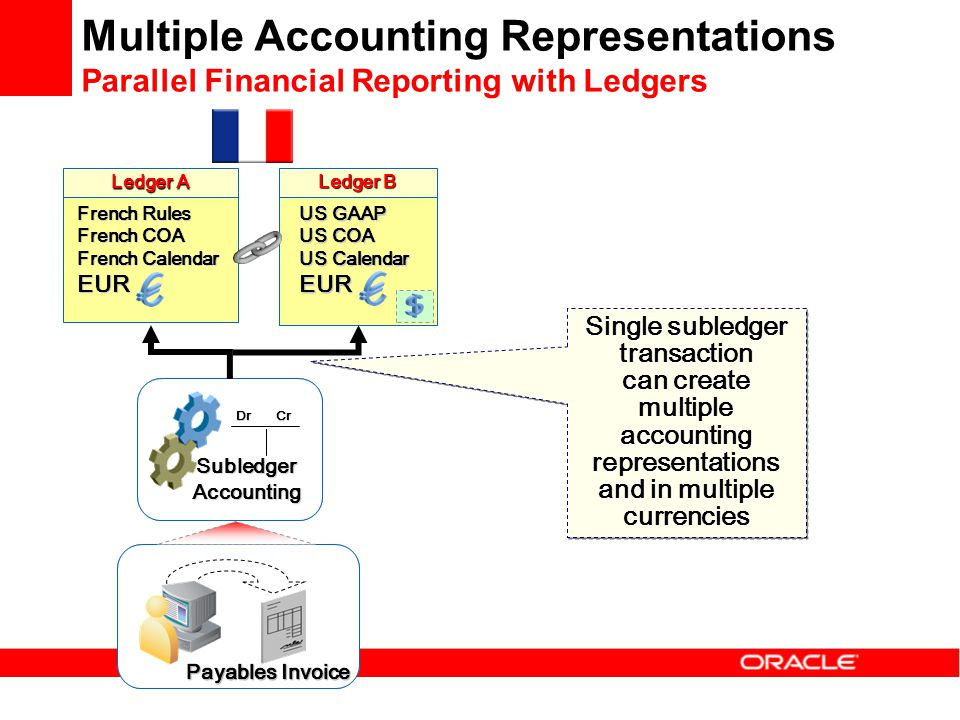 Multiple Accounting Representations Parallel Financial Reporting with Ledgers