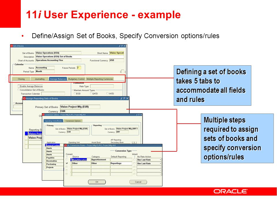 11i User Experience - example
