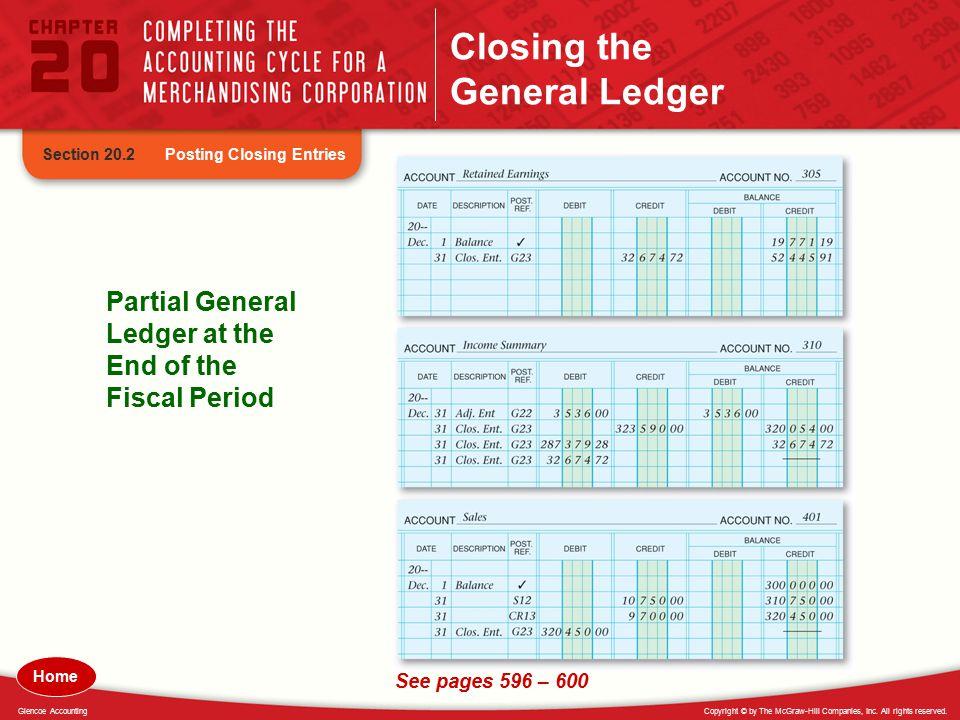 Closing the General Ledger