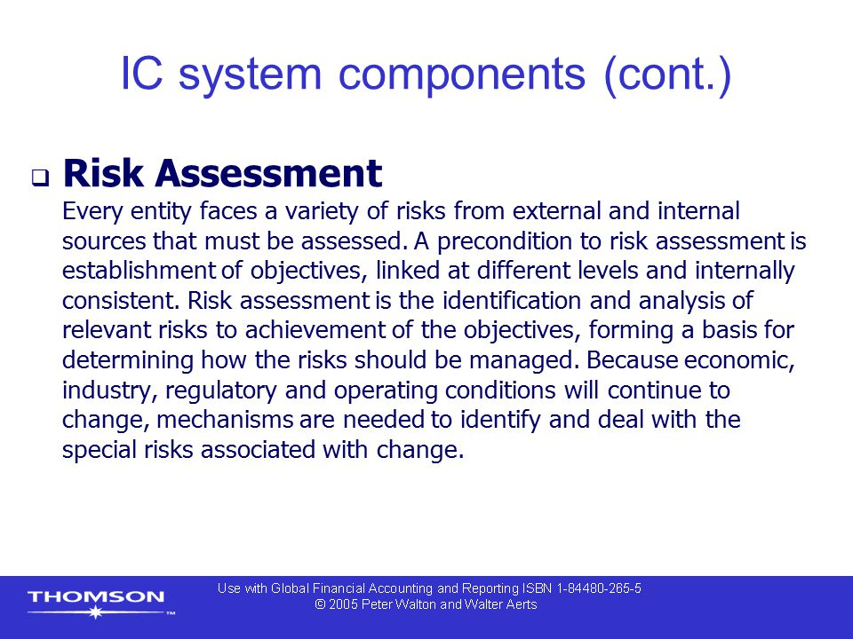 IC system components (cont.)