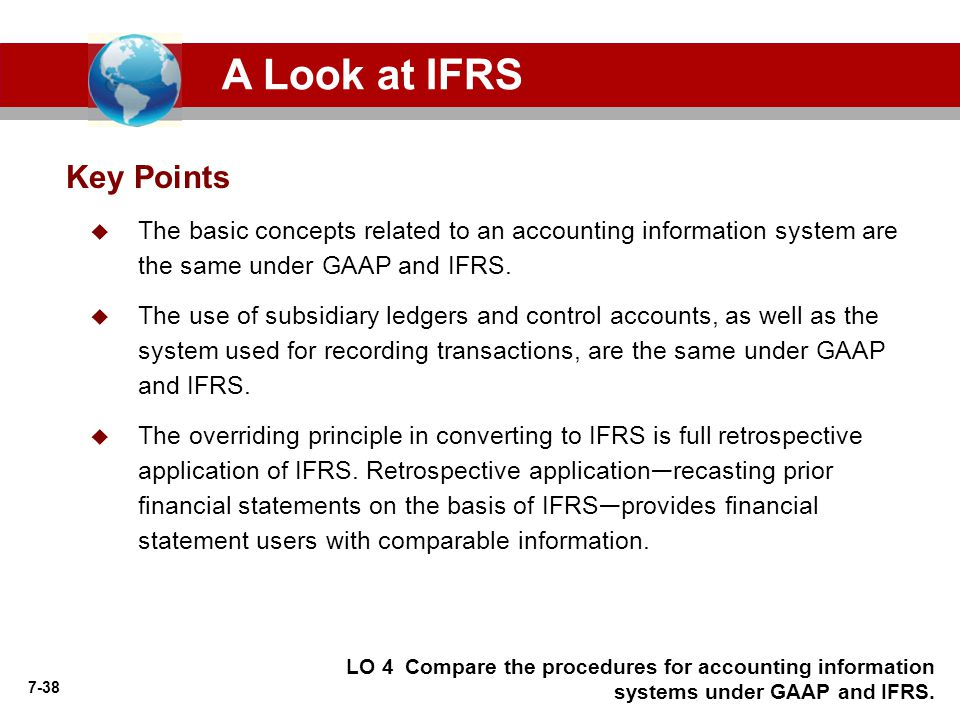 A Look at IFRS Key Points