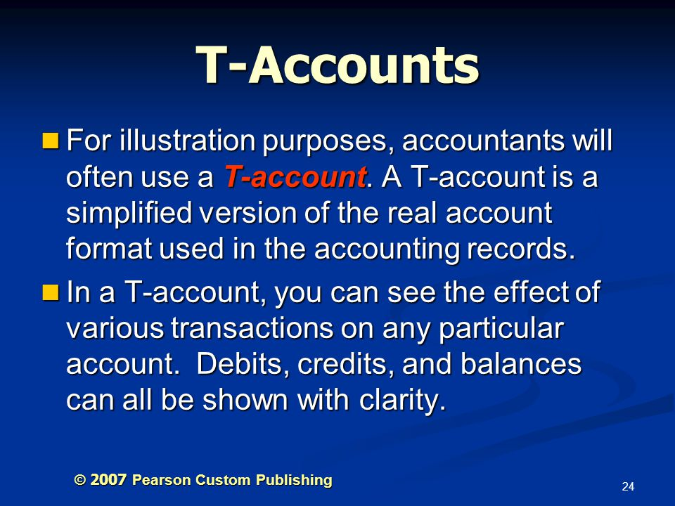 T-Accounts