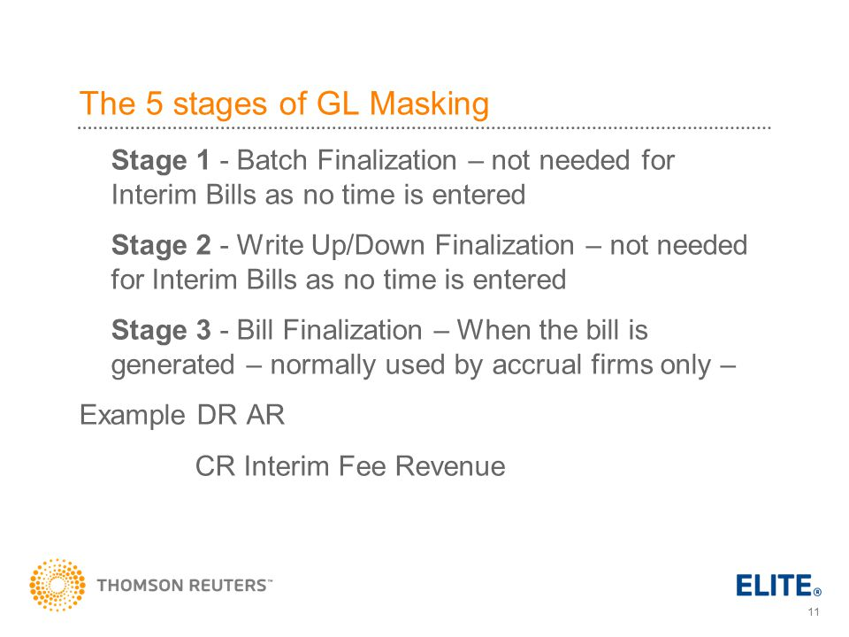 The 5 stages of GL Masking