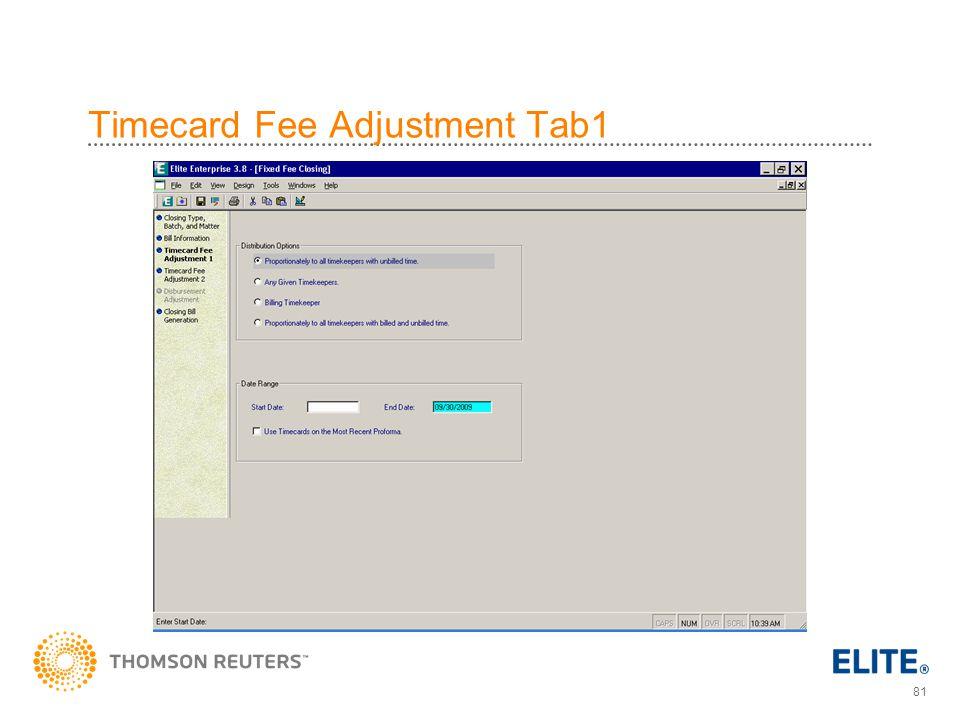 Timecard Fee Adjustment Tab1