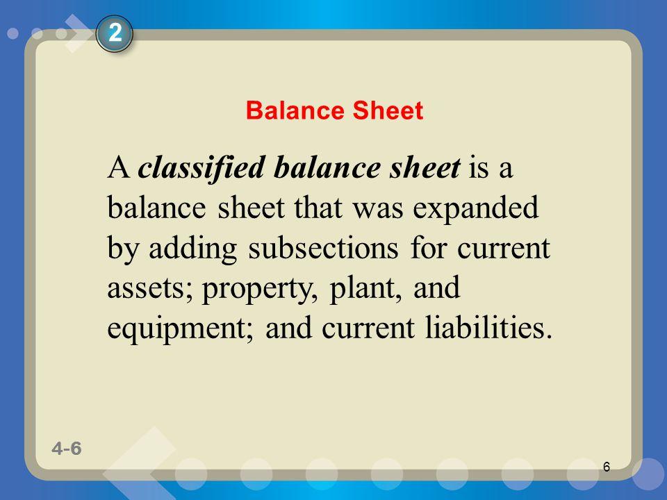 2 Balance Sheet.