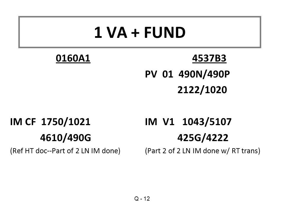 1 VA + FUND 0160A1 IM CF 1750/1021 4610/490G 4537B3 PV 01 490N/490P