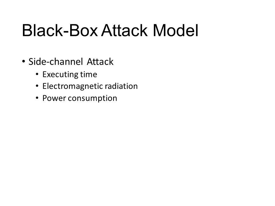 Black-Box Attack Model