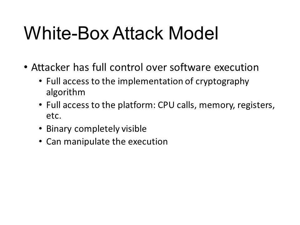 White-Box Attack Model