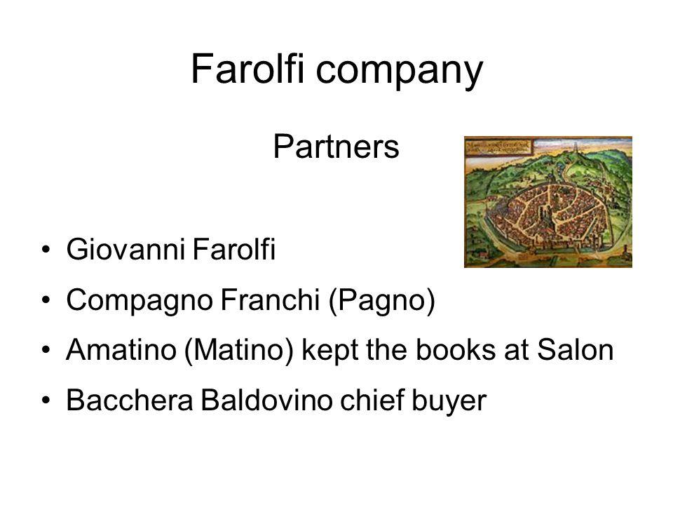 Farolfi company Partners Giovanni Farolfi Compagno Franchi (Pagno)