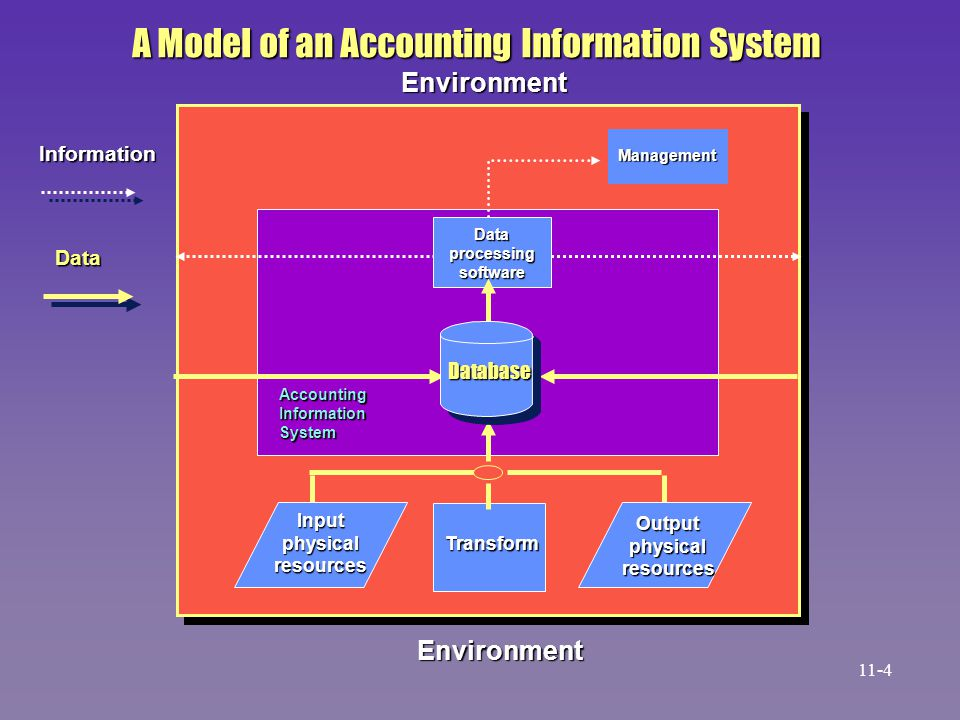 A Model of an Accounting Information System