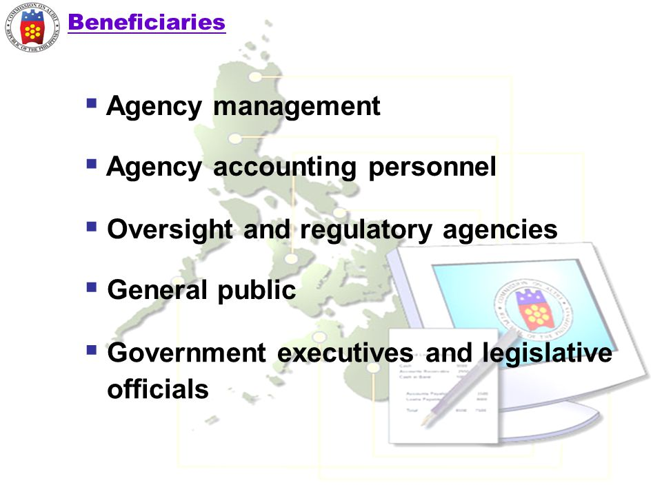 Agency accounting personnel