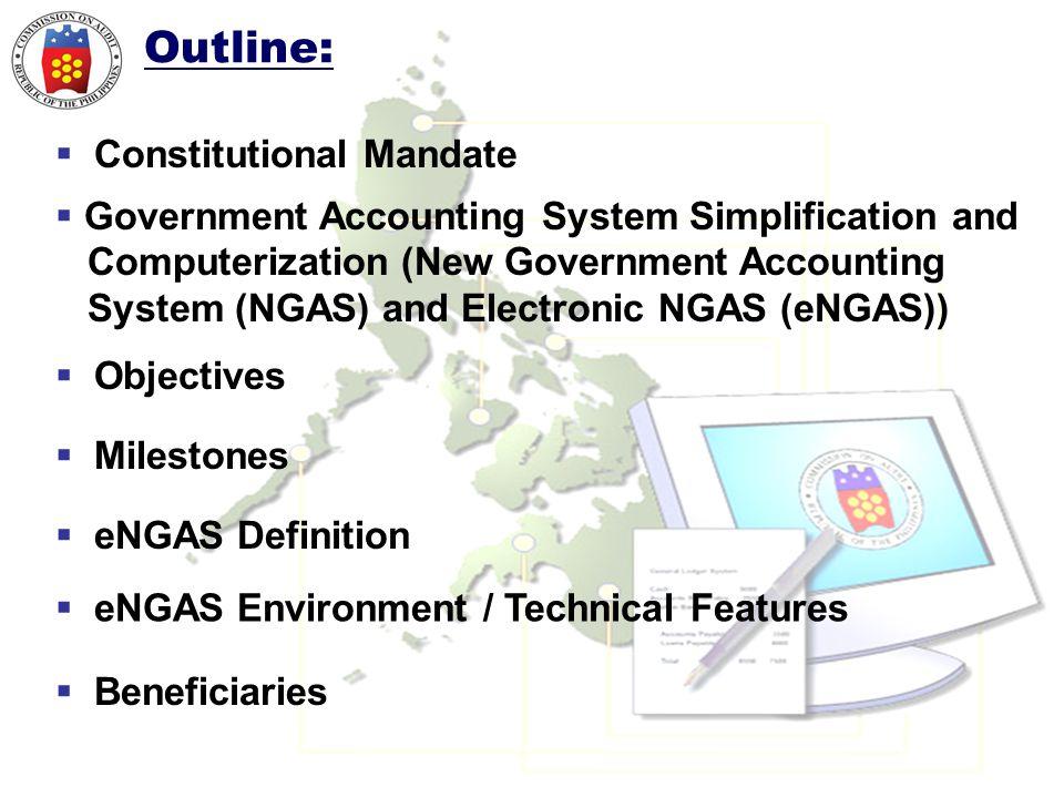 Outline: Constitutional Mandate