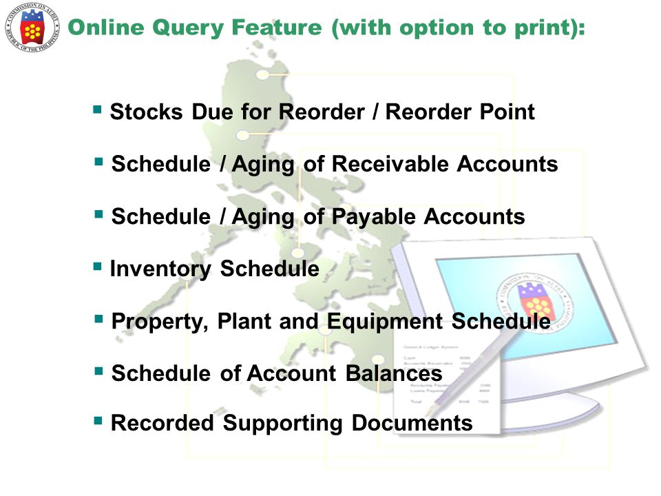 Stocks Due for Reorder / Reorder Point