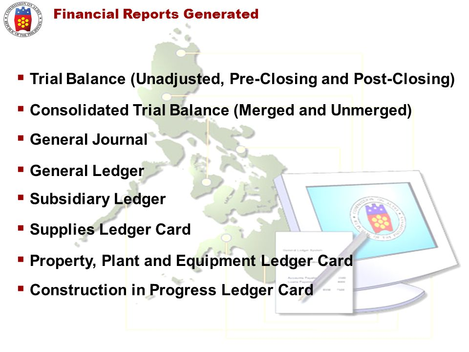 Trial Balance (Unadjusted, Pre-Closing and Post-Closing)