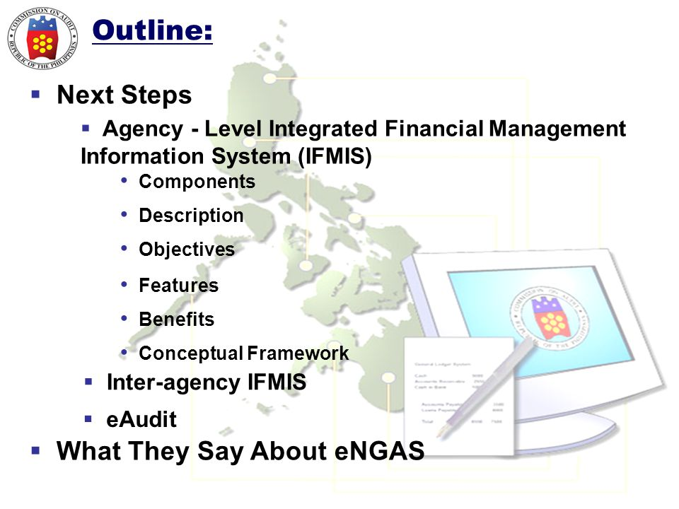 Outline: Next Steps What They Say About eNGAS