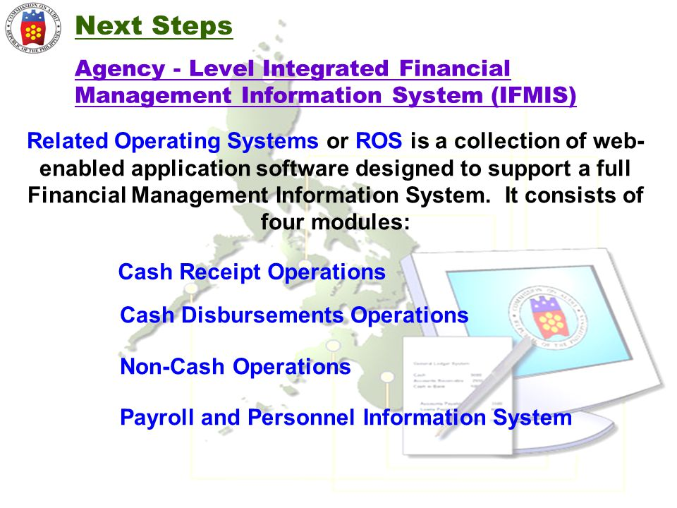 Next Steps Agency - Level Integrated Financial Management Information System (IFMIS)