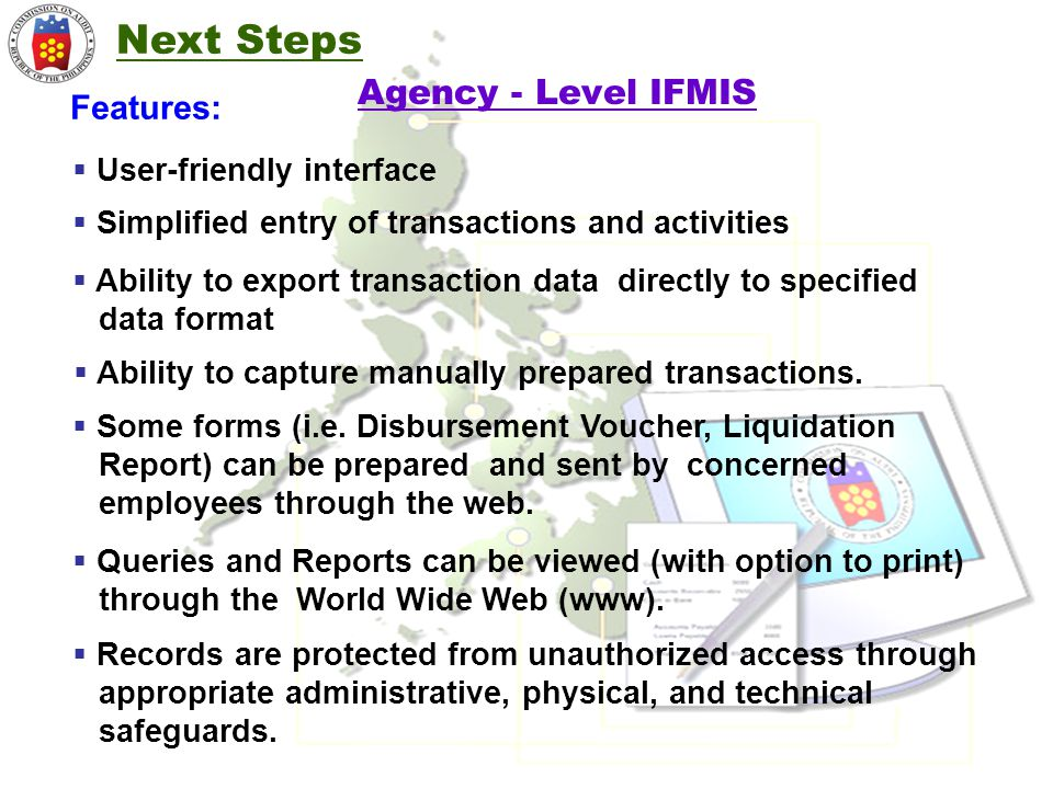 Ability to capture manually prepared transactions.