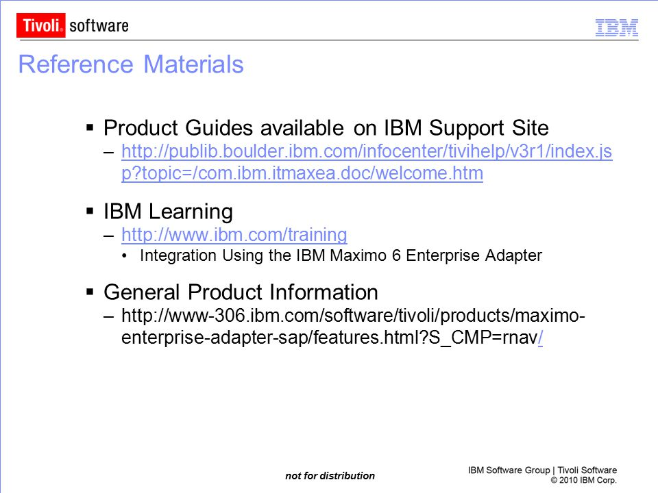 Reference Materials Product Guides available on IBM Support Site