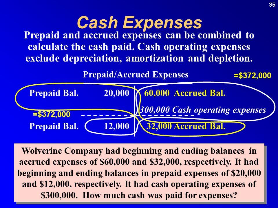 Prepaid/Accrued Expenses